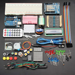 8. Geekcreit UNOR3 Basic Learning Starter Kit For Arduino