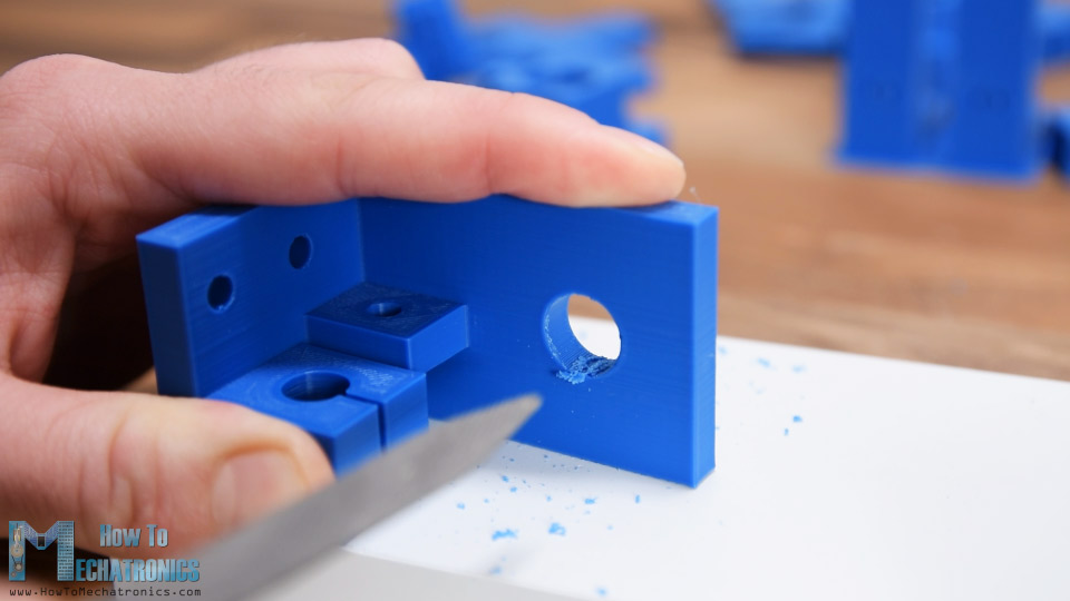 3D printed mounting bracket - post-processing