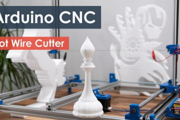 Arduino CNC Foam Cutting Machine