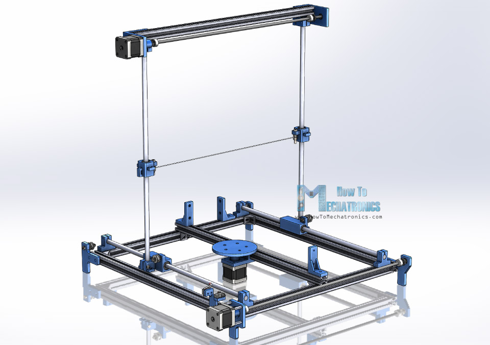 Arduino CNC Machine 3D Model