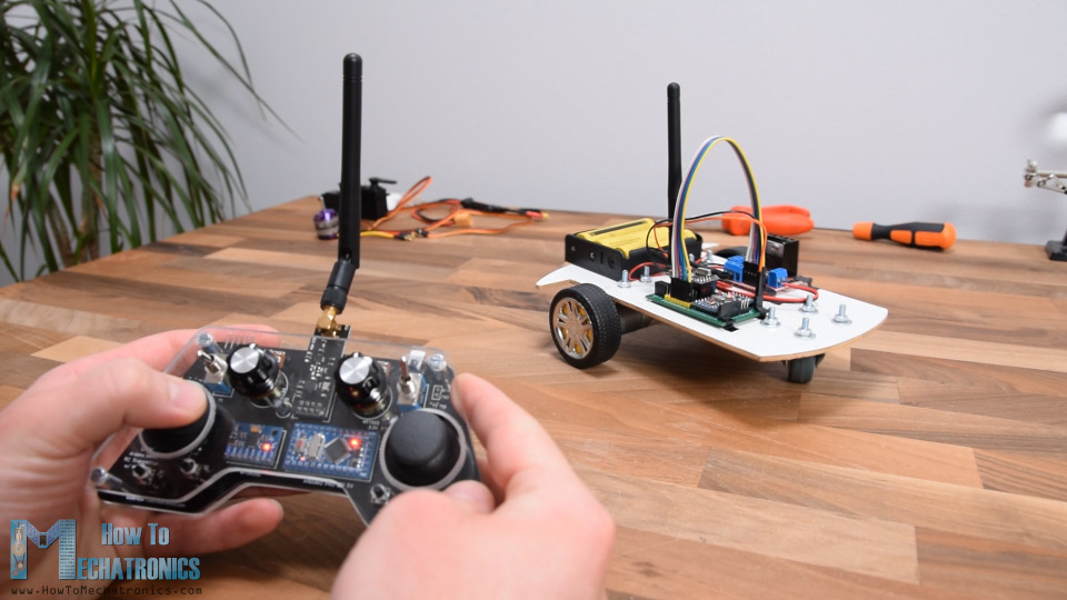 Arduino RC car control
