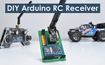 DIY Arduino RC Receiver - Radio Control for RC Models and Arduino Projects