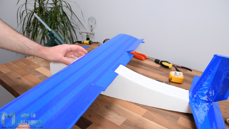 DIY Arduino RC Airplane - Wing construction
