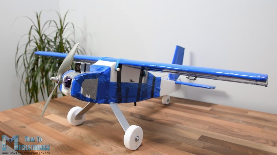 Final version of my DIY Arduino RC Airplane