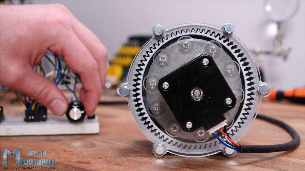 Harmonic Drive with NEMA 17 Stepper Motor - Is it good for Robotics Applications