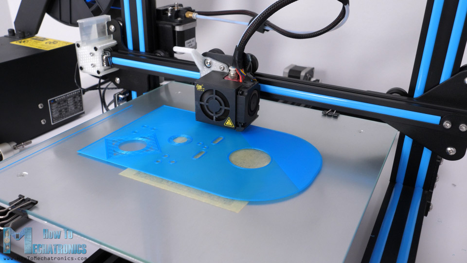 3D Printing the robot parts