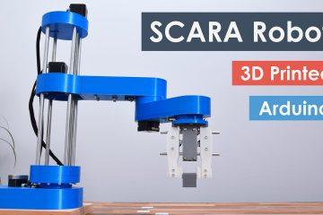 SCARA Robot - How To Build Your Own Arduino Based Robot