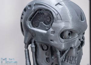 3D Printed Terminator Model - Detailed High Quality Print