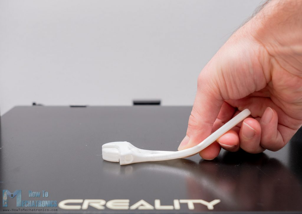 3D printing flexible material with CR-10 V3