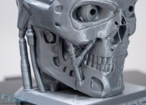 Amazing 3D Printing Details with Creality CR-10 V3 - Terminator Model