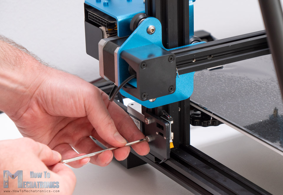 Attaching the Z-axis limit switch