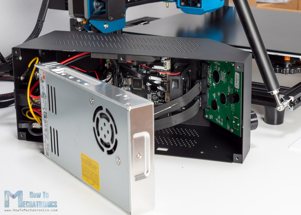 Creality CR-10 V3 Silent Drivers and Powerful Power Supply