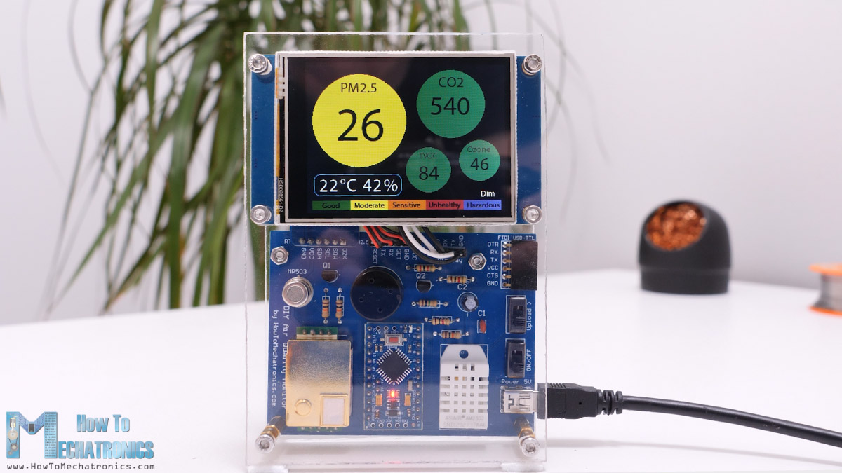 Arduino Air Quality Meter