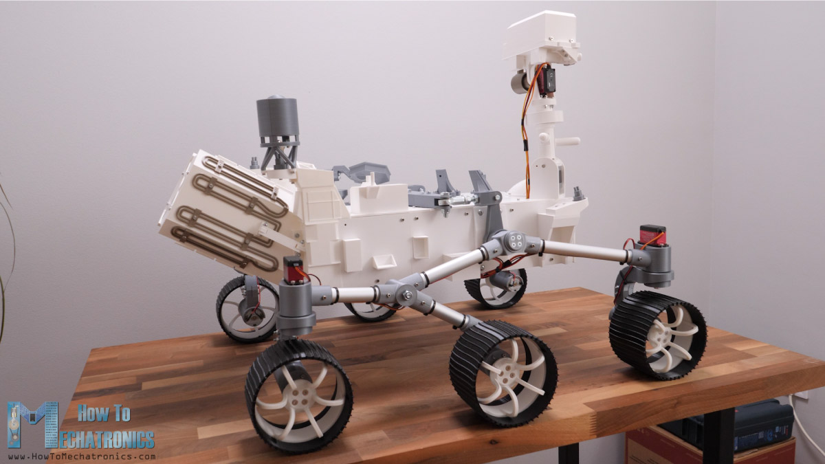 3D Printed Replica of the Mars Perseverance Rover