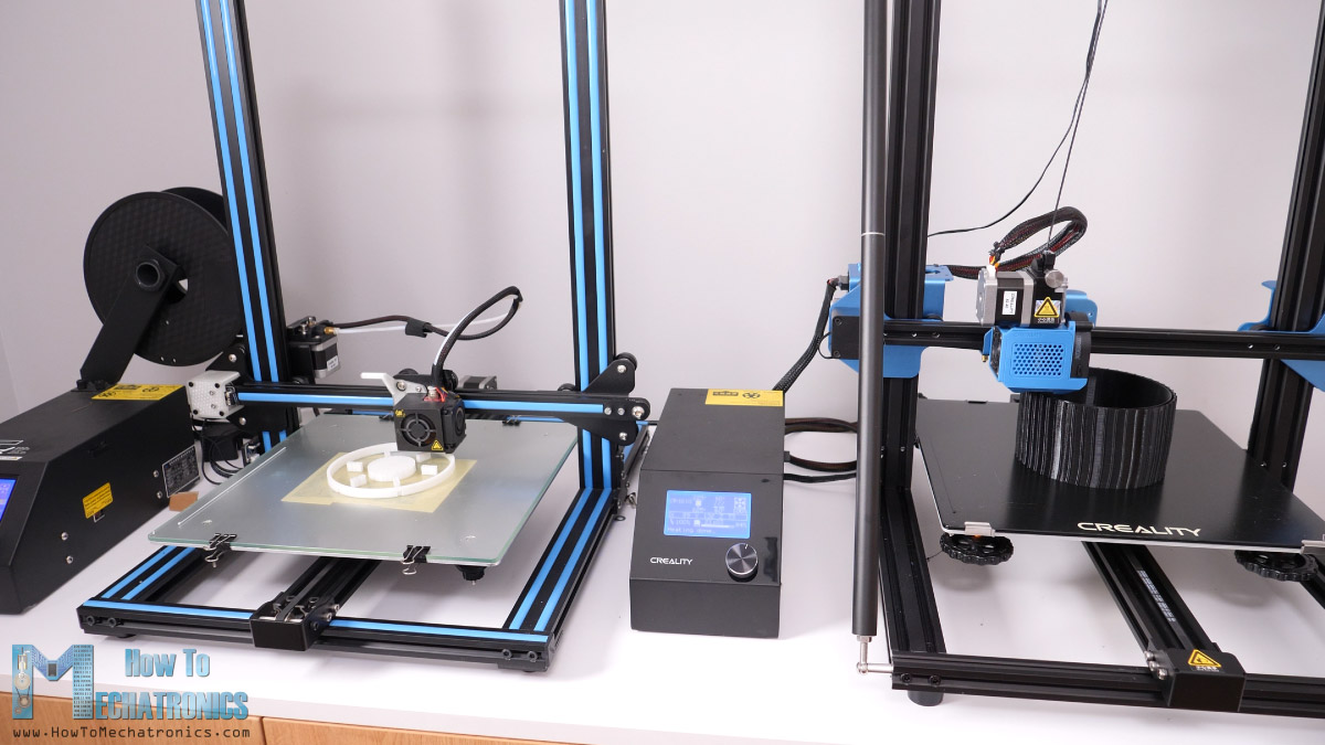 3D Printing the parts on Creality CR-10 and CR-V3 3D Printers