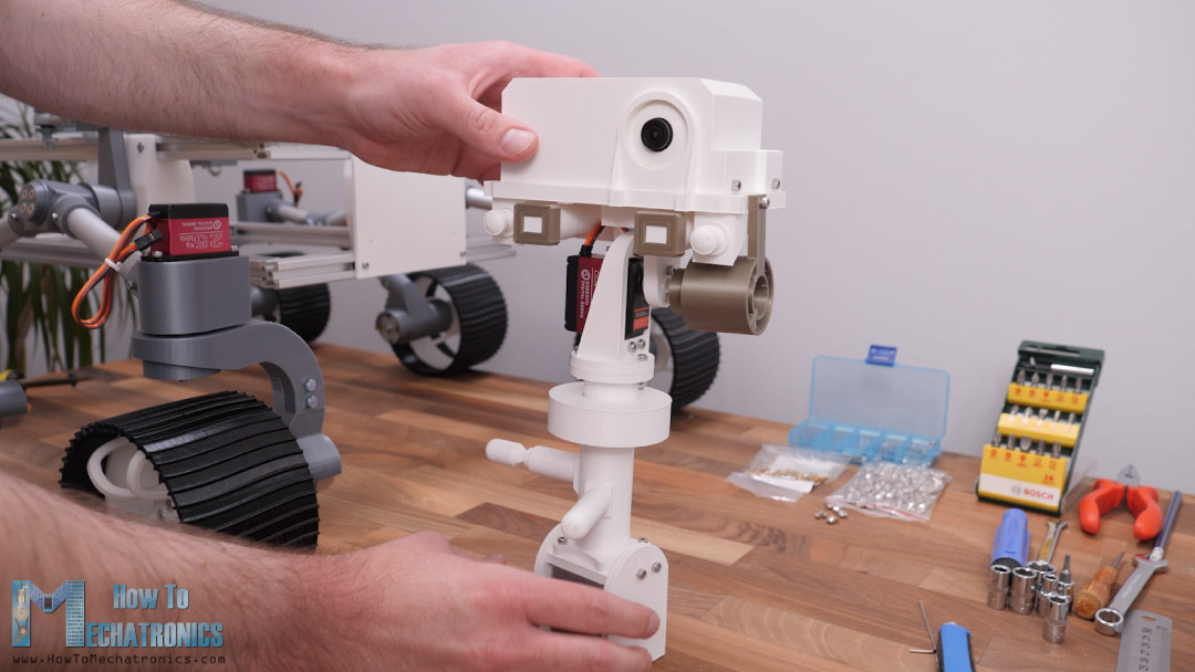 FPV camera located in the camere unit of the mars rover