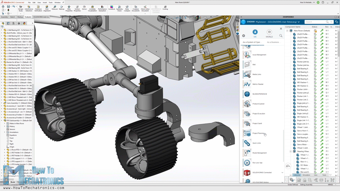 Working with 3DEXPERIENCE SOLIDWORKS