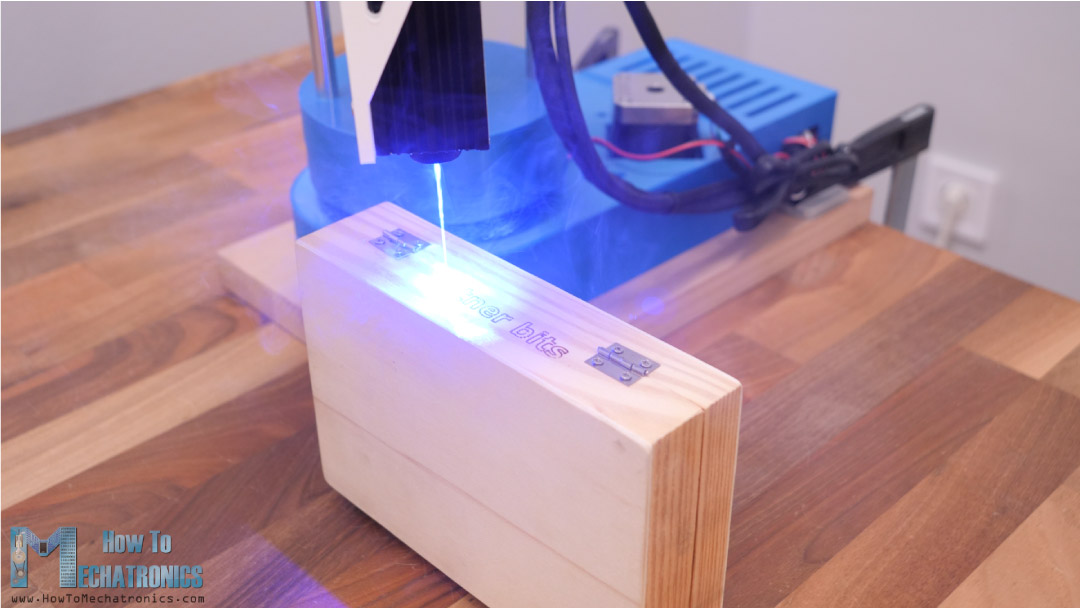 Laser Engraving taller objects with SCARA Robot
