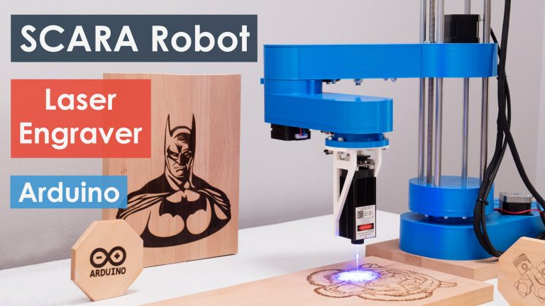 Laser Engraving with DIY SCARA Robot - Complete Guide