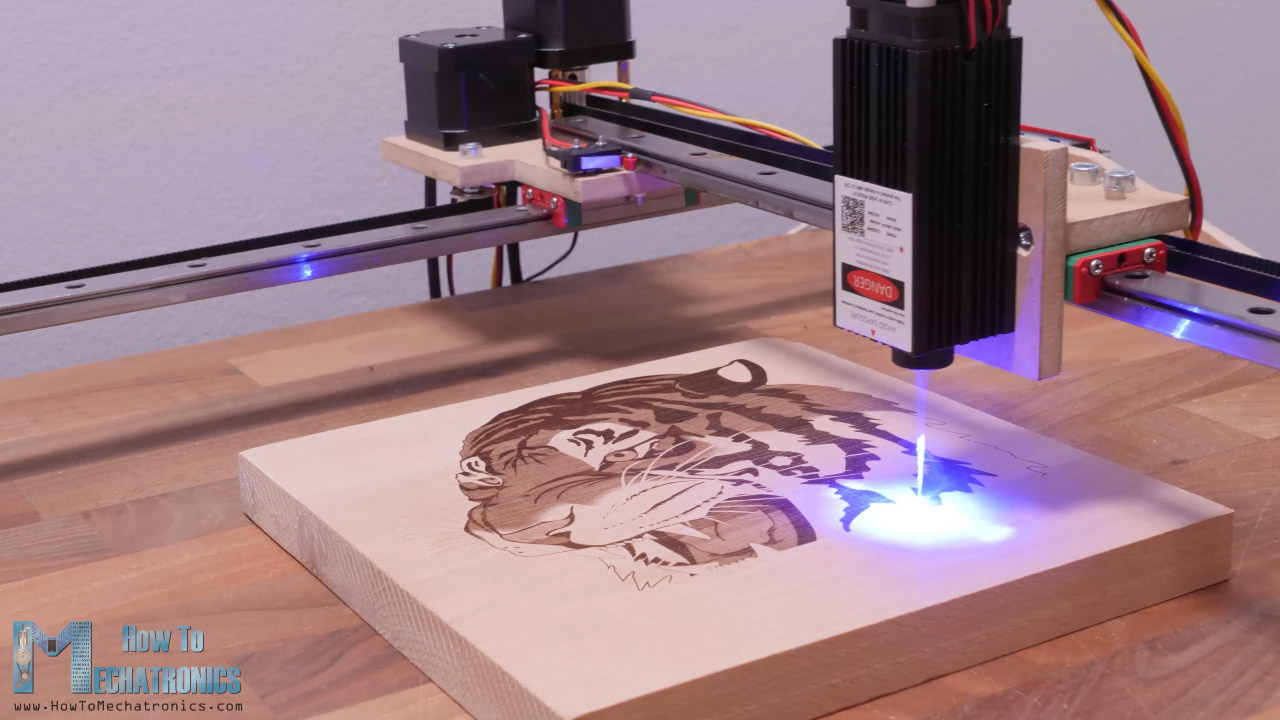 Laser Engraving with a Simple CNC Machine